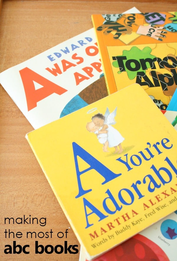 Teaching Tips for Using ABC Books to Teach the Alphabet and Other Literacy Skills to Kids #preschool #kindergarten #alphabet