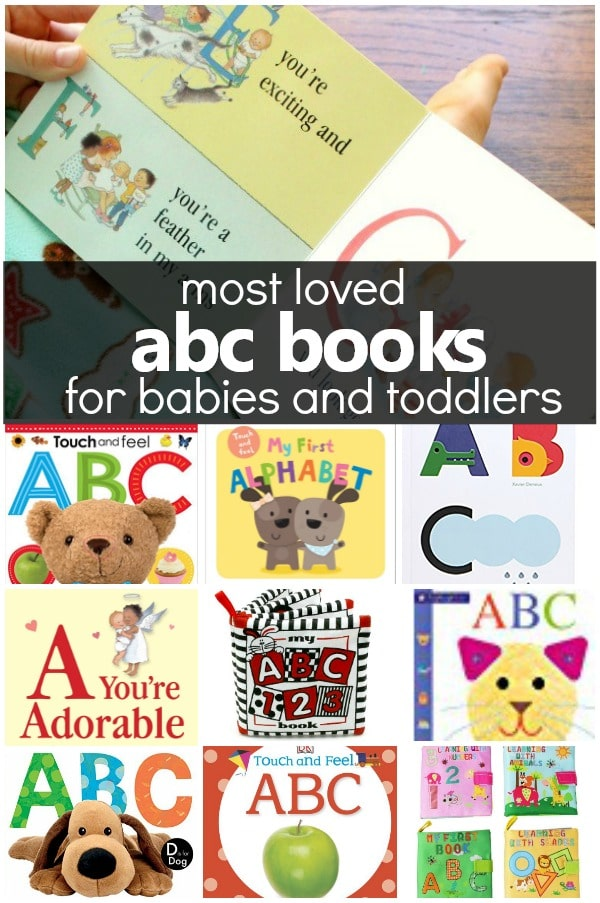 Most Loved ABC Books for Babies and Toddlers #alphabet #abc #toddlers
