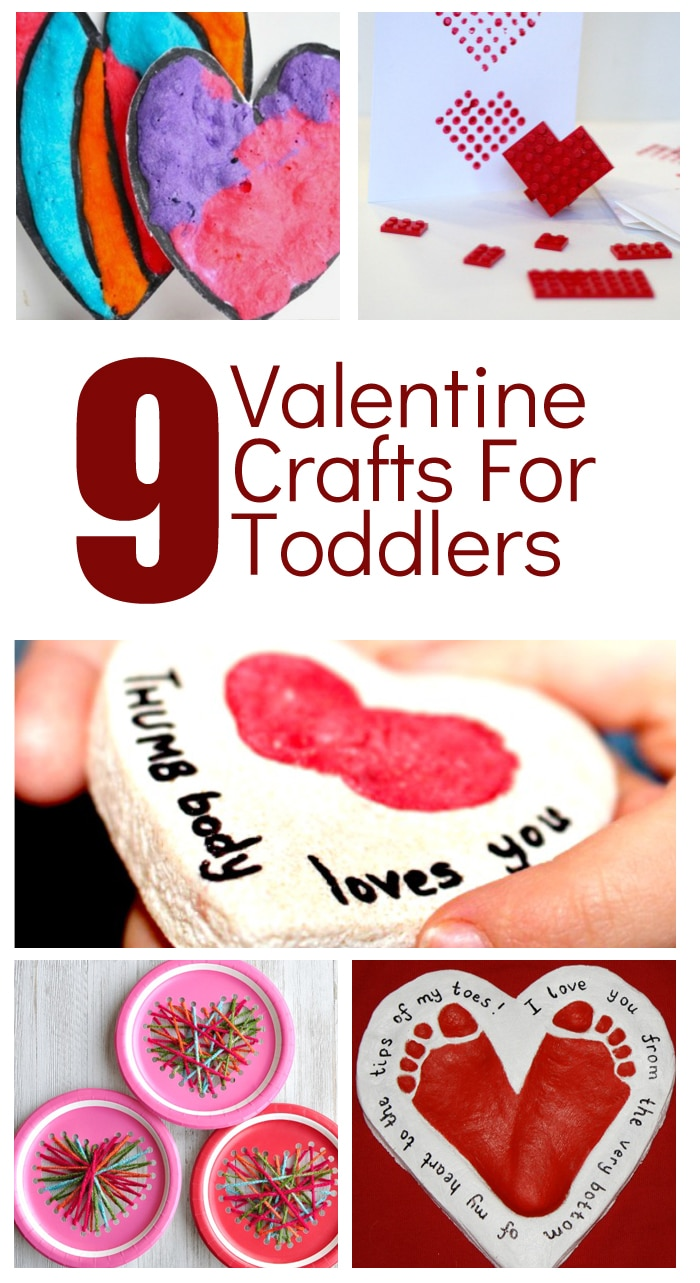 Adorable Valentine S Day Crafts For Toddlers Fantastic Fun Learning