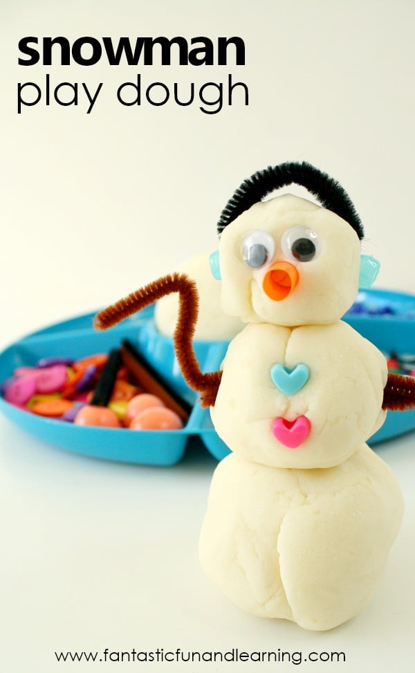 This Snowman Play Dough Invitation Is Terrific For A Snowman Theme Or Winter Activities With Preschoolers