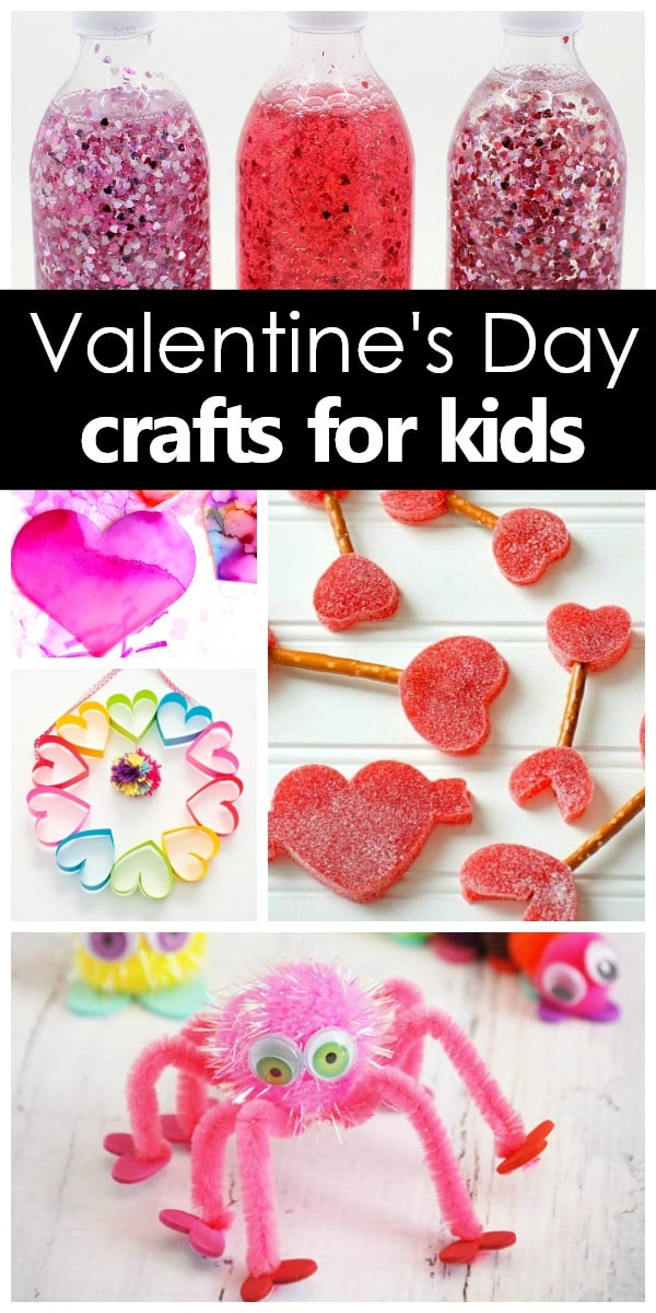 Valentine's Day Crafts for Kids #valentinesday #kidscrafts