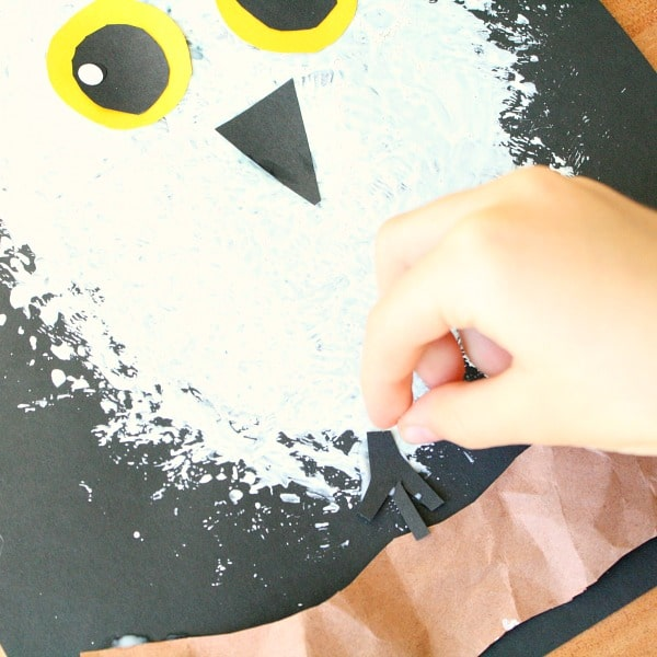 Snowy Owl Winter Craft for Kids - Fantastic Fun & Learning - photo#32