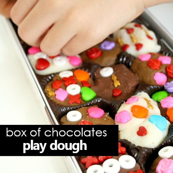 box of chocolates play dough-square