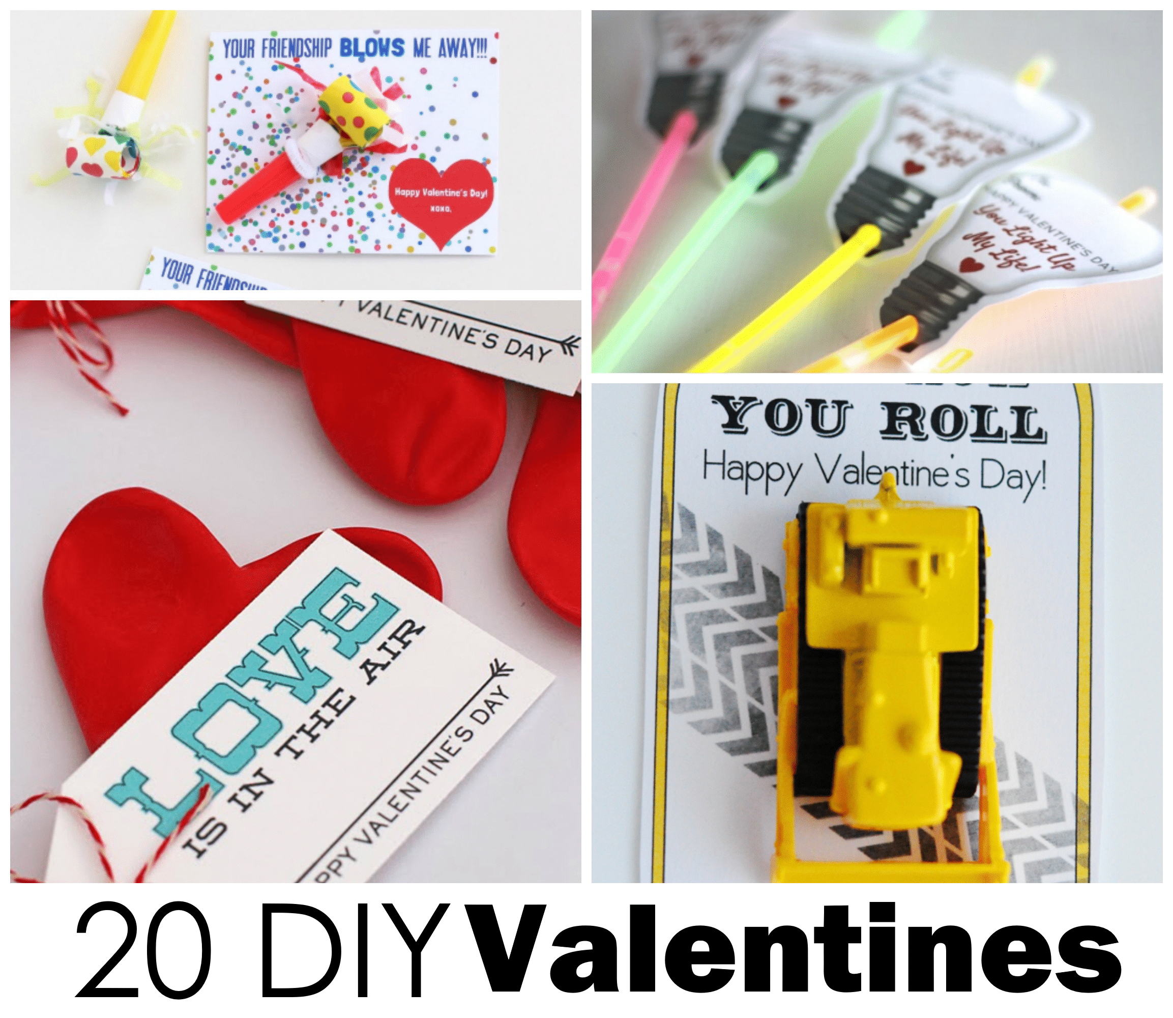 Homemade Valentines for Kids