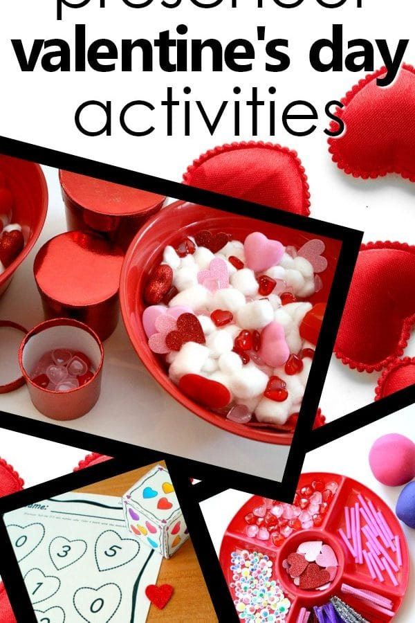 Preschool Valentine's Day Activities for Kids. Free printables, lesson plans, activity ideas, games, songs, videos and more. #preschool #kidsactivities #valentinesday