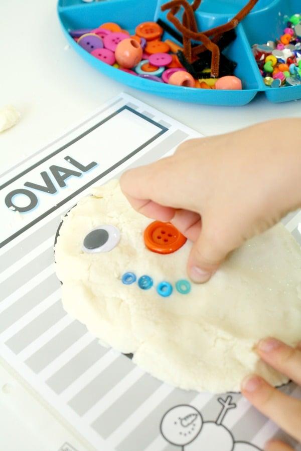 snowman shape mats freebie-pin no text