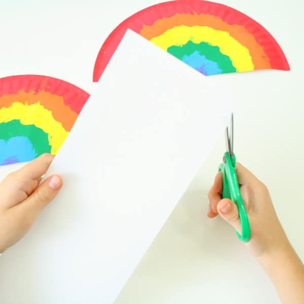 Cutting Cloud for Rainbow Craft