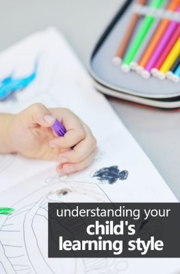 Understanding Your Child's Learning Style and why it matters when teaching preschool at home #homepreschool #preschoolathome #homeschoolpreschool