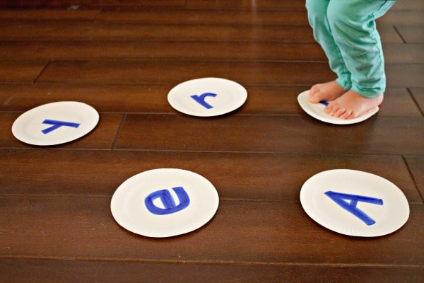 Gross motor name activity for preschoolers