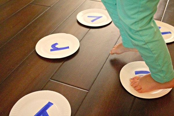 Get moving with this gross motor name activity for kids