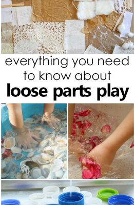 Everything You Need to Know About Loose Parts Play-Learn the how and why behind loose parts play for kids. Tips for getting started. Where to find materials and more!