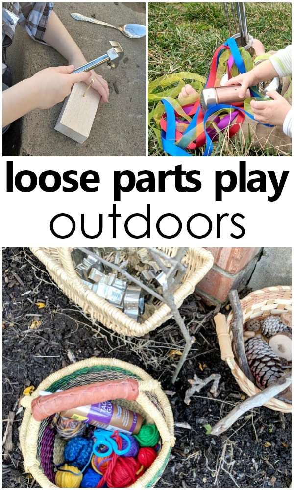 Outdoor Play With Loose Parts Fantastic Fun Amp Learning