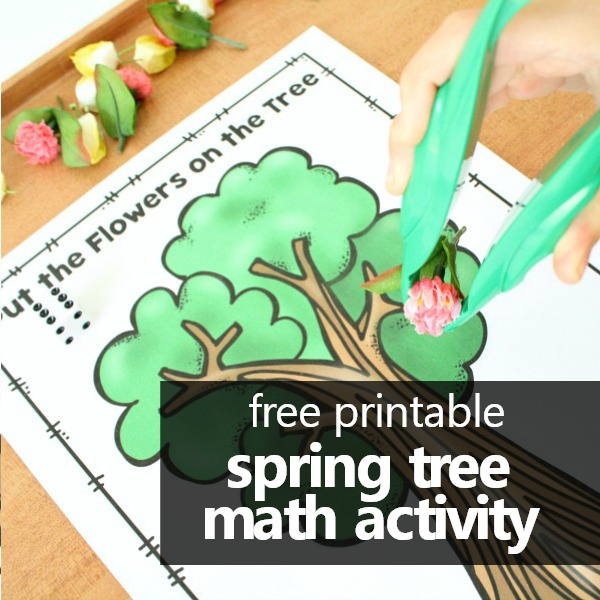 free printable spring math game for preschool or kindergarten-square