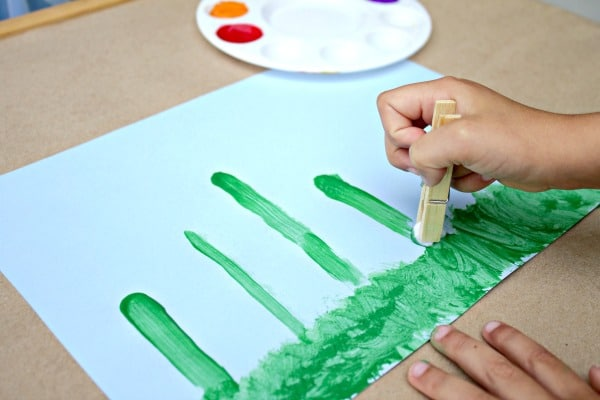 Preschool Spring Art Activity