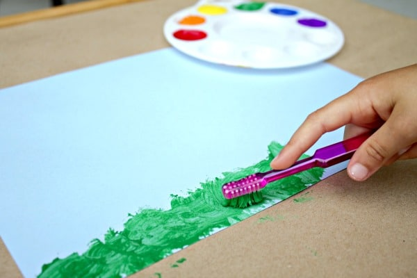 Easy Spring Art for Kids