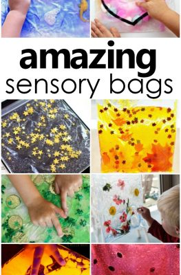 Amazing Sensory Bags-mess-free sensory play for babies, toddlers, and preschoolers