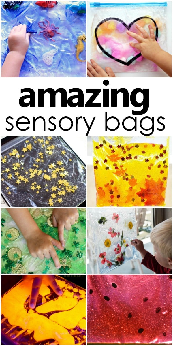 amazing sensory bags mess free sensory play for babies toddlers and preschoolers