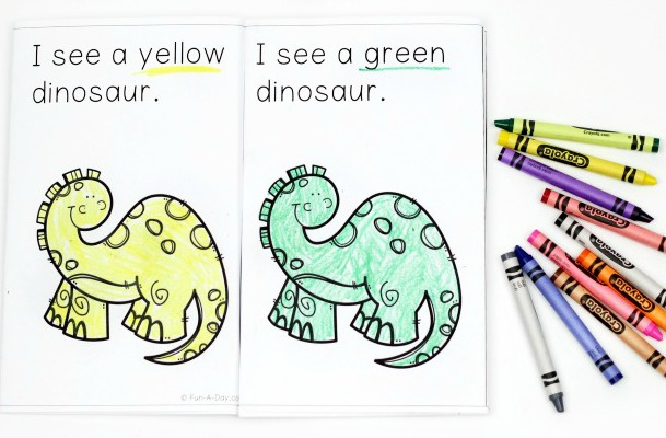 photograph about Dinosaur Matching Game Printable identified as Dinosaur Concept Preschool Pursuits - Outstanding Exciting Discovering