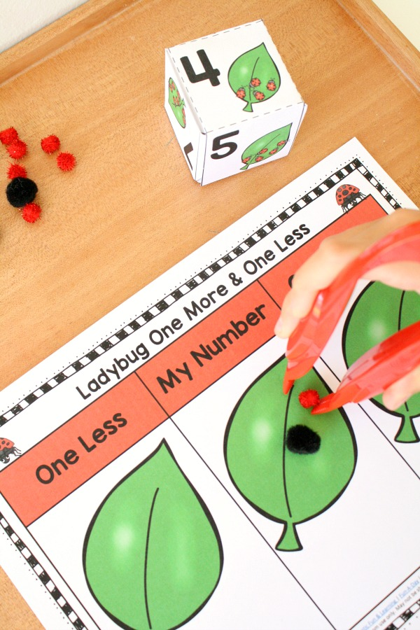 Ladybug Number Sense Math