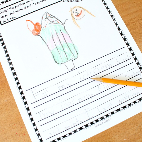 Preschool And Kindergarten Writing Prompts For Kids Fantastic Fun