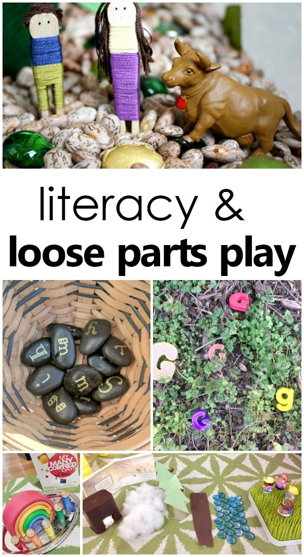 Classroom Names Ideas ~ Loose parts play and literacy fantastic fun learning