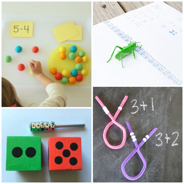 Math Fact Activities for Kindergarten-2