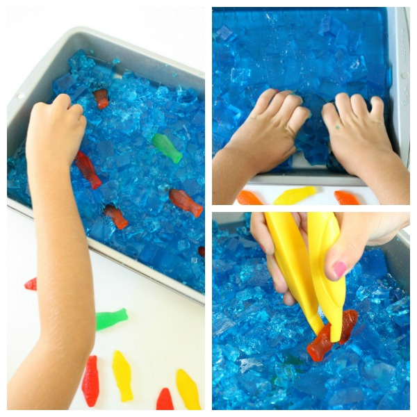 Square Fish Sensory Small World Play