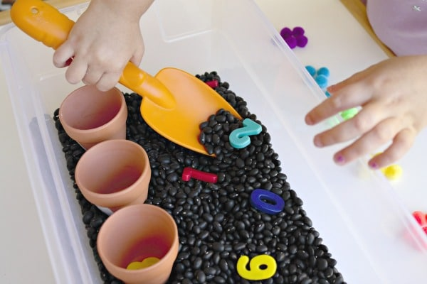 Scooping Seeds Plant Theme Activities