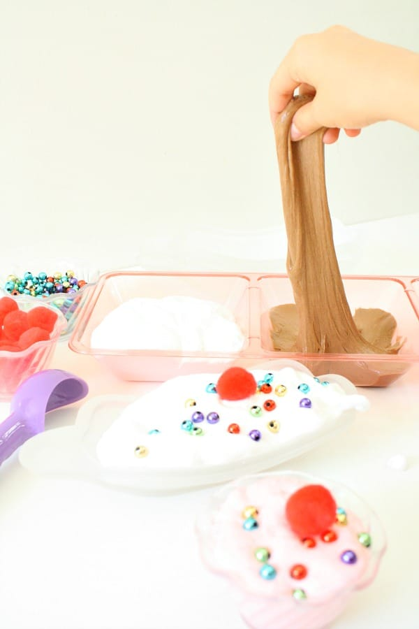Ice Cream Fluffy Slime Recipe