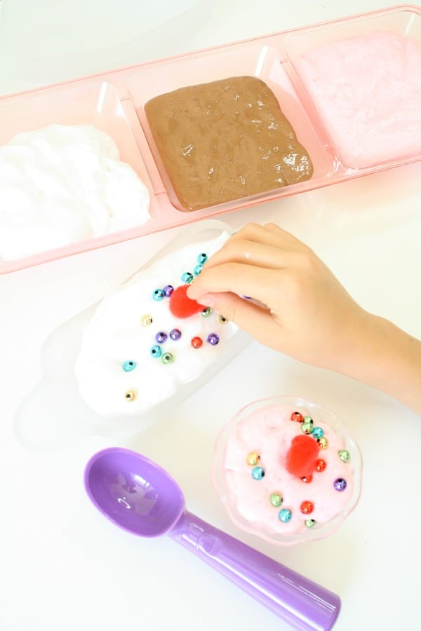 Ice Cream Slime for Kids