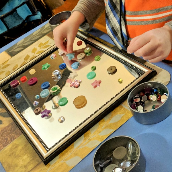 Mirrors for Loose Parts Play and Art