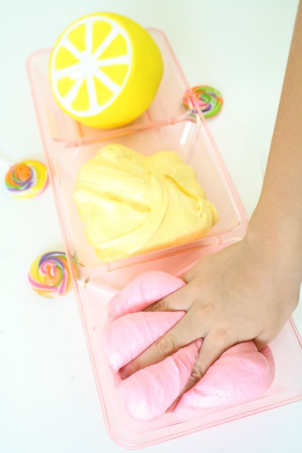 Strawberry Lemonade Slime Recipe