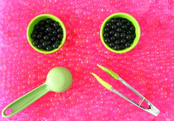Watermelon Sensory Bin Materials