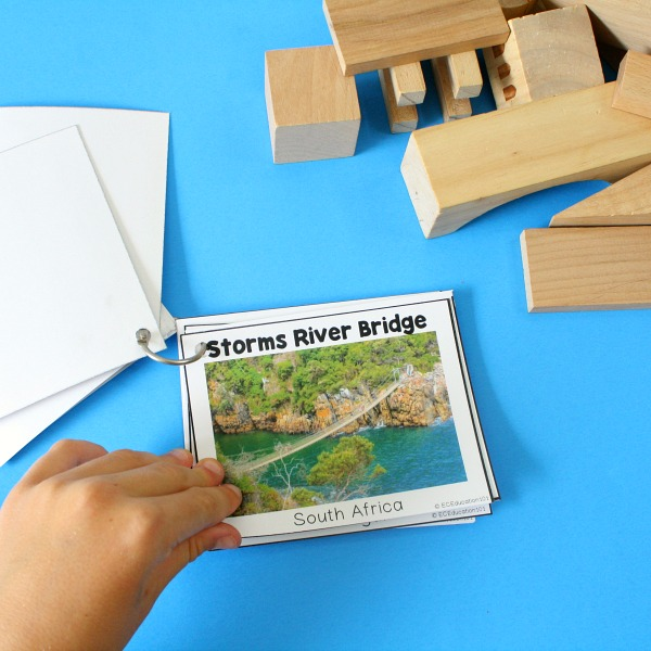 Bridges Flip Book for STEM bins