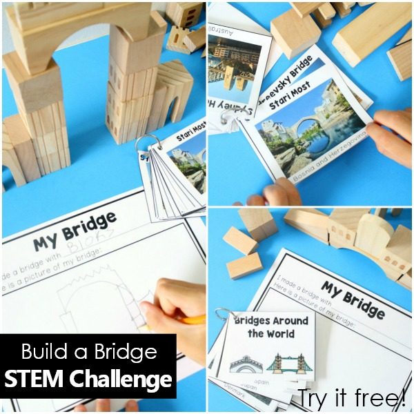 Free Sample Bridge STEM-Square