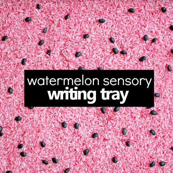 watermelon writing tray_square text