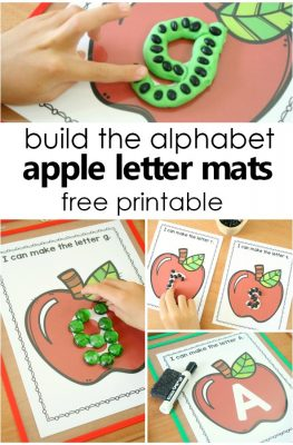Apple ABCs Preschool Alphabet Printables