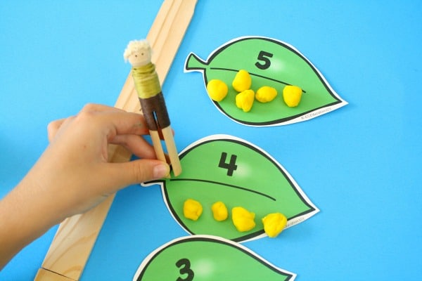 Climbing Stalk-Jack and the Beanstalk Preschool Activities