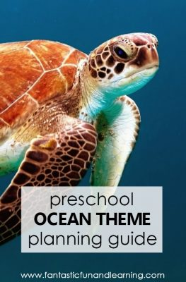 Preschool Ocean Theme Lesson Planning Guide #preschool #summer