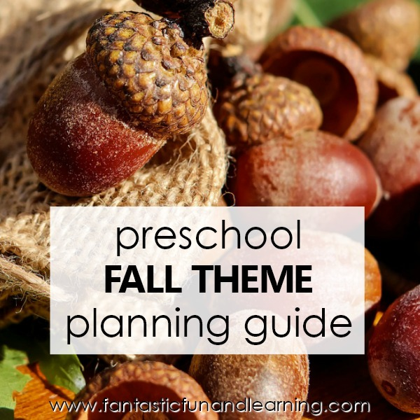 Fall Theme Planning Guide -Square