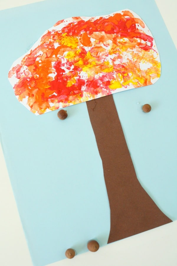 Fall Tree Art Project for Kids