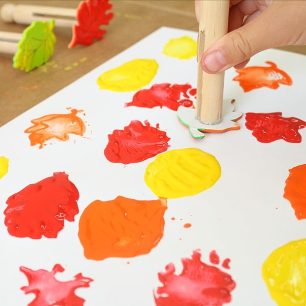 Preschool Fall Art Activities