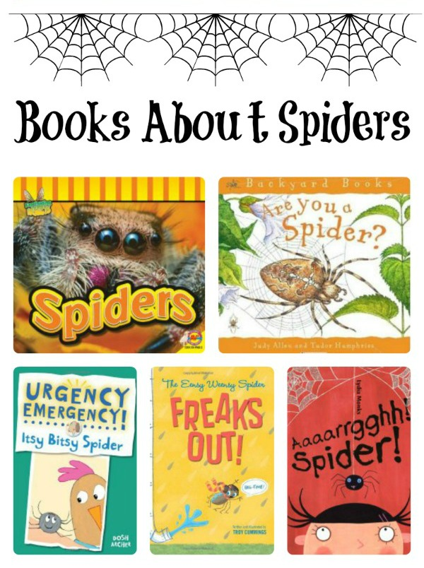Preschool Spider Theme Books