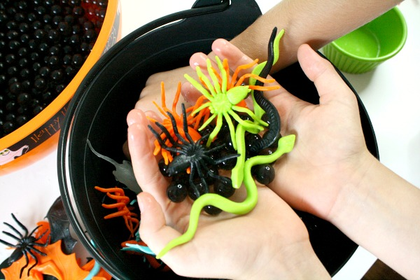 Sensory Play Halloween Activities for Kids