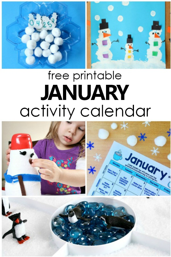 January Preschool Activities And Fun Things To Do With Kids - Fantastic Fun  & Learning