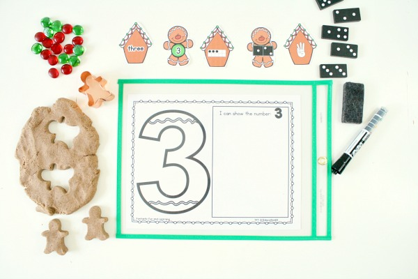 Free printable gingerbread math