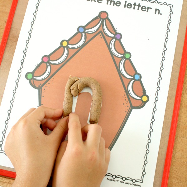 Gingerbread Playdough ABC Mats-square