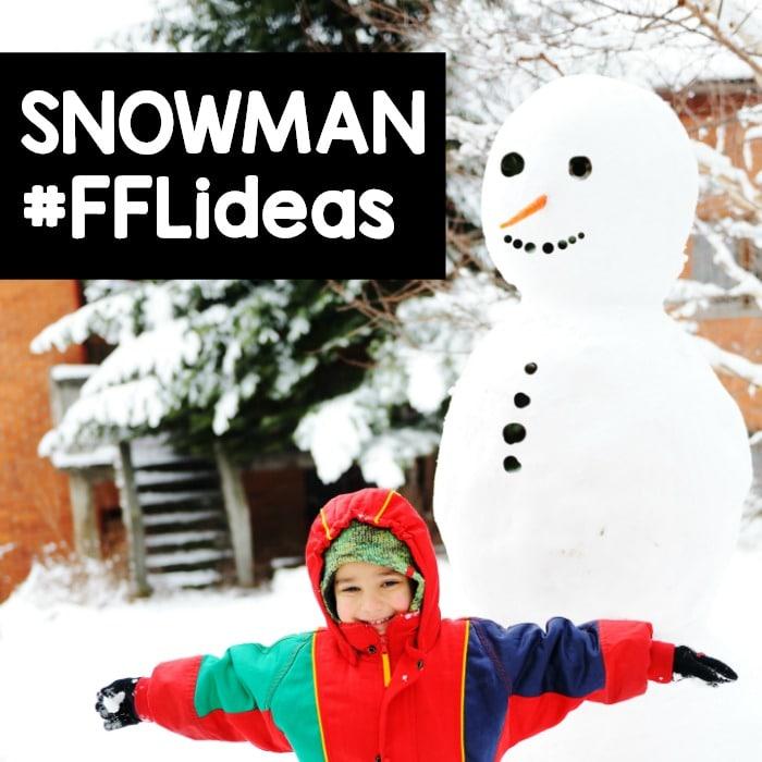 Snowman Preschool Activities