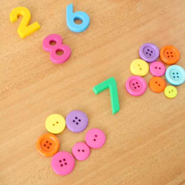 One More One Less Magnetic Numbers Math Activity