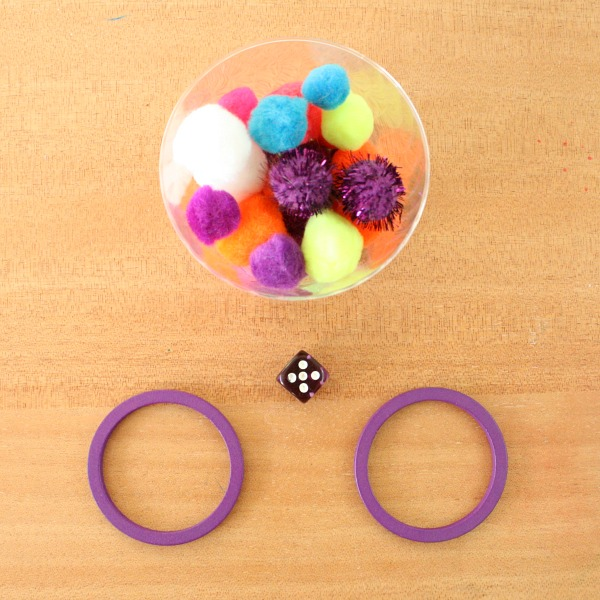 Pom Pom One More One Less Number Sense Small Group Activity